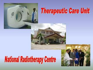 Radiation therapy radiographers in the spot light